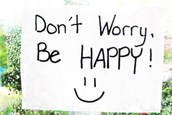 Protégé: «Don't worry, be happy»